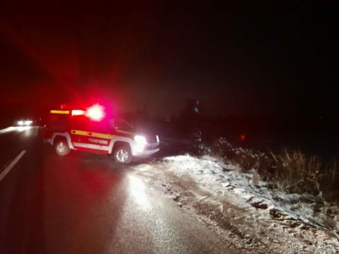 Bezna de pe soselele din Prahova face victime. Un biciclist cazut pe carosabil a murit dupa ce a fost calcat de masina