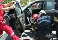 Accident cu 4 masini la Valea Calugareasca. Soferul vinovat era BEAT!