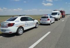 Accident grav pe DN1, la intersectia spre Paulesti. Un camion a lovit un autoturism, 4 victime