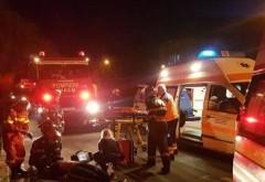 Accident grav in Floresti. Trei masini implicate, o victima preluata de SMURD