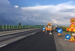 Lucrări pe Autostrada A2 București-Constanța. Circulația – restricționată