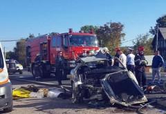 Accident mortal pe DN1, la Cornu