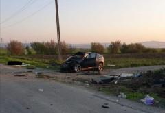 Tragedie pe o sosea din Prahova. Doi tineri au murit si un altul este ranit grav, in urma unui accident produs la Baba Ana