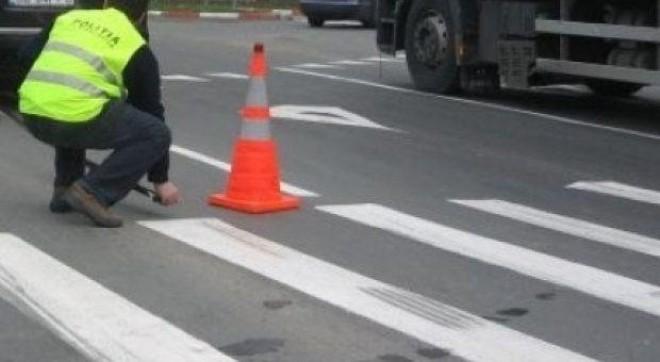 Accident in Campina, pe strada Toma Ionescu. O fetita de 11 ani, lovita pe trecerea pentru pietoni