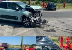 Accident grav pe DN1, zona Paralela 45. O femeie a murit