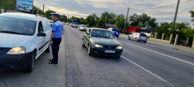 Actiune a Politiei Rutiere la Valea Calugareasca, Ciorani si Fulga: 100 de masini verificate, amenzi de peste 27.000 lei