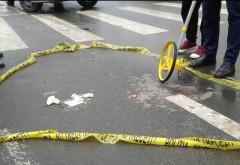 Zona blestemata! Doua fetite au fost lovite de masina pe trecerea pentru pietoni, la Valea Calugareasca