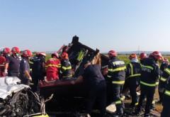 Tragedie! 7 morți, între care 2 copii, într-un accident grav produs pe E85, în Bacău. A fost activat planul roșu de intervenție