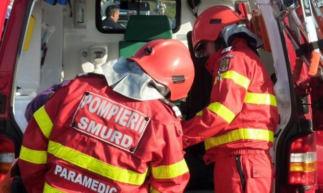 Accident grav la Strejnicu. 6 victime, printre care si un copil