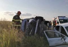 Accident grav la Cheia. O soferita de 41 de ani a murit dupa ce masina s-a izbit de o cisterna