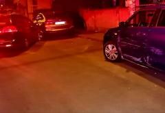 Ploiesti: Rupt de beat, un tanar a facut prat doua masini parcate pe str. Nicolae Iorga