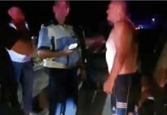 Cîțu, tu erai? Un sofer aproape de coma alcoolica, prins de Politie la Strejnicu dupa ce alti soferi l-au vazut conducand pe contrasens si au sunat la 112