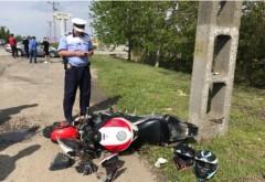 Accident mortal la Tatarani, in giratoriul nou amenajat. Un motociclist a decedat dupa impactul cu o masina