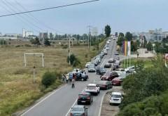 Accident la iesirea din Ploiesti spre Targoviste. 3 masini implicate, doua victime