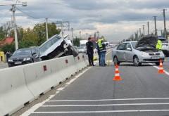 Accident grav pe DN1, la Românesti