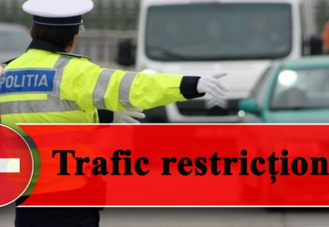 Atentie, soferi! Trafic restrictionat pana pe 3 octombrie, in Sinaia