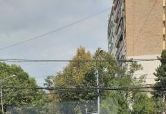 Accident pe Soseaua Nordului, zona Andrei Muresanu. Doua masini s-au facut praf