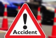 Accident pe DN1 D, la intersectia Fulga-Baraitaru