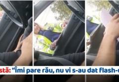 """Cea mai tare polițistă: """"Îmi pare rău pentru bugetul dvs, nu vi s-au dat flash-uri?"""" (VIDEO)"""