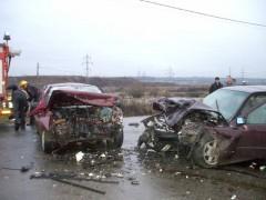 Carnagiu pe DN1: ŞASE persoane au murit intr-un accident la Floresti