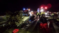 Soţia şoferului mort în TRAGEDIA de pe DN1, în STARE DE ŞOC. S-a răzgândit în ultima clipă să rămână acasă