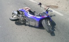 Accident RUTIER în Bereasca. Un scuterist a fost lovit de un autoturism