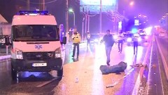 Accident GRAV pe şoseaua Bucureşti-Ploieşti. Un bărbat a murit pe loc, după ce a fost spulberat de o şoferiţă