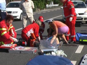 Accident in Ploiesti, pe strada Valeni. Un copil a fost lovit de masina