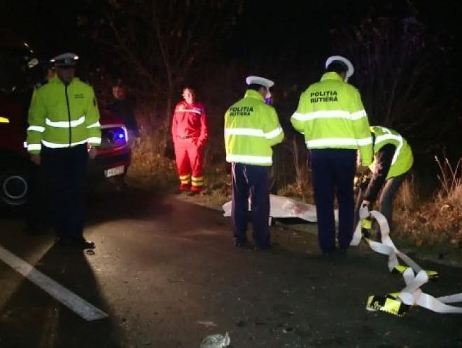 Accident cumplit, la Valea Calugareasca. Un barbat a murit, iar altul se afla in stare grava