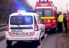 Accident pe DN1 la Băneşti. Un şofer de 30 de ani a intrat într-un TIR