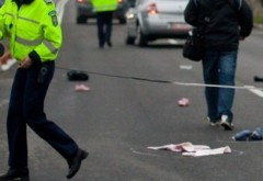 Accident MORTAL la Cosminele. Un pieton a fost ZDROBIT de un autoturism
