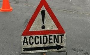 ACCIDENT în LANȚ pe podul de la Gara de Sud. Patru mașini au fost implicate, iar două persoane RĂNITE
