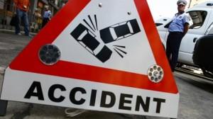 Accident RUTIER lângă stadionul Ilie Oană