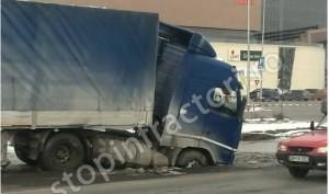Accident INCREDIBIL la ieșirea din Ploiești