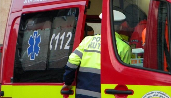 ACCIDENT pe strada Gh. Grigore Cantacuzino din Ploieşti