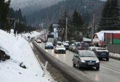 Accident cu DOUĂ VICTIME la Sinaia. O maşină a intrat pe contrasens pe DN1