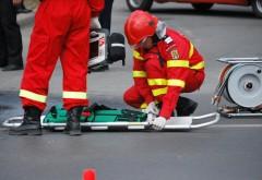 Accident în Câmpina. Un bărbat a ajuns la spital