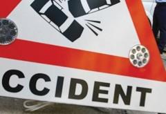 Accident rutier pe DN1 la Românești