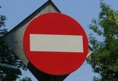 Trafic rutier RESTRICȚIONAT în intersecții importante din Ploiești