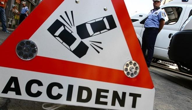 Accident rutier pe DN1A la Boldești-Scăieni