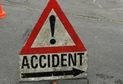 Un șofer s-a răsturnat pe DN1