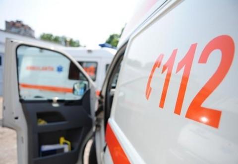 Pieton lovit de mașină în Bucov