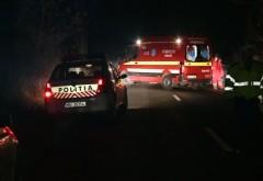 Accident in comuna Manesti: O femeie a fost spulberata de o masina, pe DN1 A