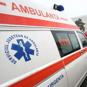 Accident cu trei mașini în Sinaia