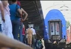 Trenurile circulă cu RESTRICŢII DE VITEZĂ. Vezi judeţele unde pot apărea întârzieri din cauza caniculei