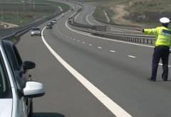 Prinşi cu VITEZĂ ULUITOARE pe Autostrada Bucureşti-Ploieşti