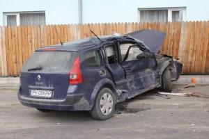 Accident GRAV în Câmpina FOTO