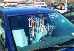 CRUCIULIŢELE de pe parbrize şi luminile suplimentare de pe maşini, INTERZISE