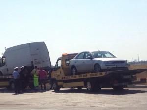 Accident rutier la Podul Înalt în Ploiești