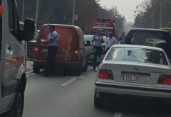 Accident pe Bulevardul Castanilor din Ploiesti FOTO